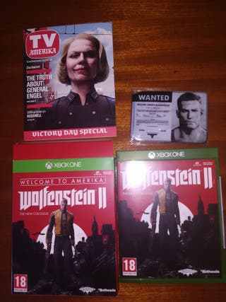wolfenstein 2 welcome Amérika xbox one
