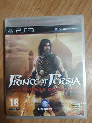 PRINCE OF PERSIA, LAS ARENAS OLVIDADAS PS3