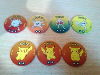 7 Fichas TOMY Pokémon