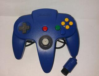 mando azul nintendo 64
