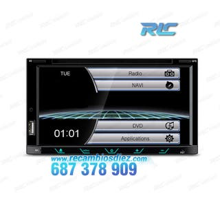 RADIO 2DIN GPS TÁCTIL BLUETOOTH USB SD