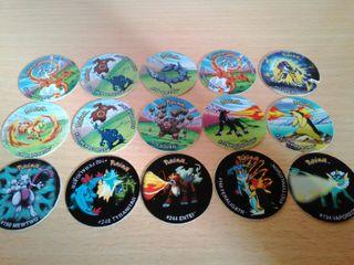 15 Tazos Pokémon League
