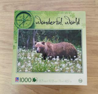 puzzle oso