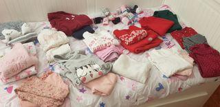 lote ropa bebe niña 2 años