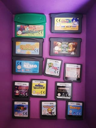 Videojuegos DS + Gameboy