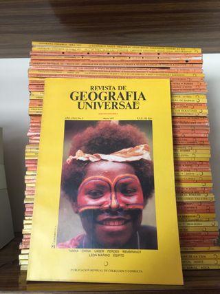 60 revistas National Geographic