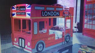London bus bunk beds.. literas