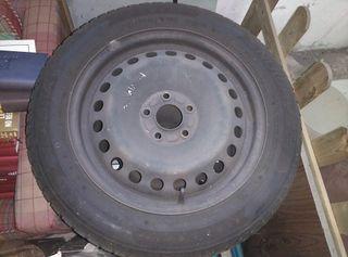 2 ruedas llantas de 16 pulgadas de hierro de ford