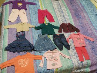 Lote bebé niña de 3 a 6 meses ,marcas como Zara..