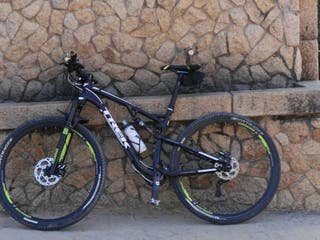 Bicicleta Trek,doble suspensión 29