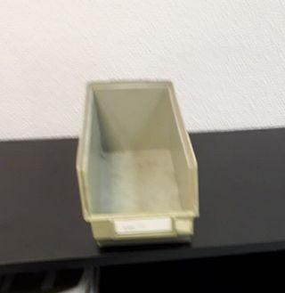 Cajas para almacenaje componentes