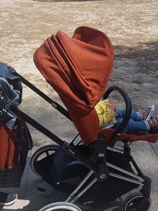 Carro bebé + silla paseo Cybex Priam Año 2017