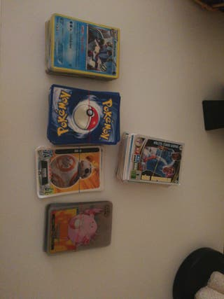 cromos, cartas de fútbol, pokemon, star wars,.