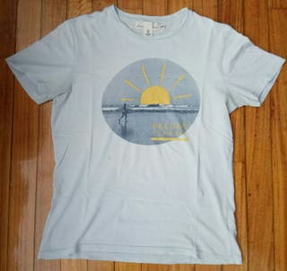 camiseta surfera de H&M talla S mediana