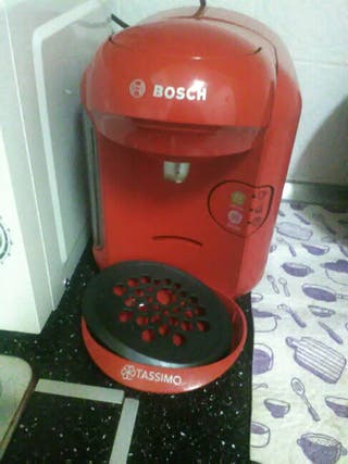Cafetera capsulas Bosh