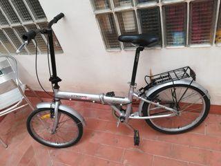 bicicleta plegable de aluminio para niños/adultos