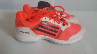 Zapatillas nuevas Adidas Padel Talla 37