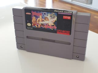 Magic Sword / Super nintendo
