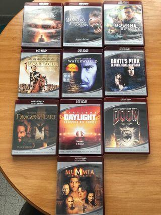 10 PELÍCULAS EN HD-DVD