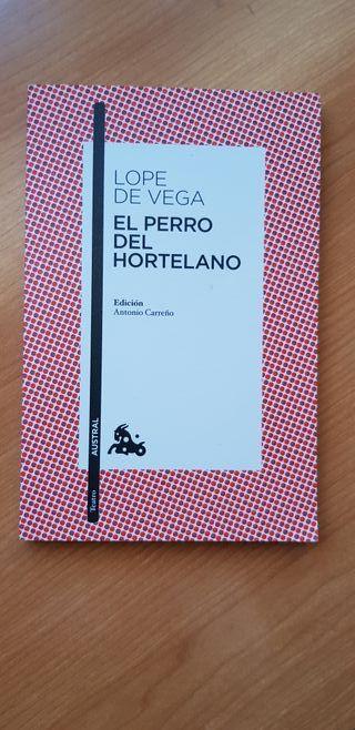 """Libro: """"El perro del hortelano"""" Lopez de Vega"""