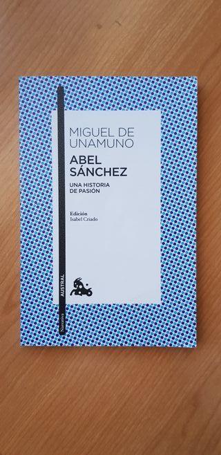 """Libro: """"Abel Sanchez"""" _Miguel de Unamuno"""