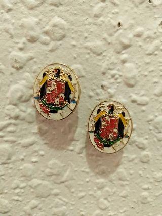 Pin-insignia escudo antiguo de España