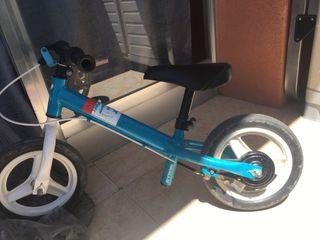 Bicicleta para niños sin pedales