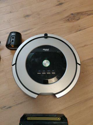 OFERTA!!! Roomba 886 + virtual wall + cargador