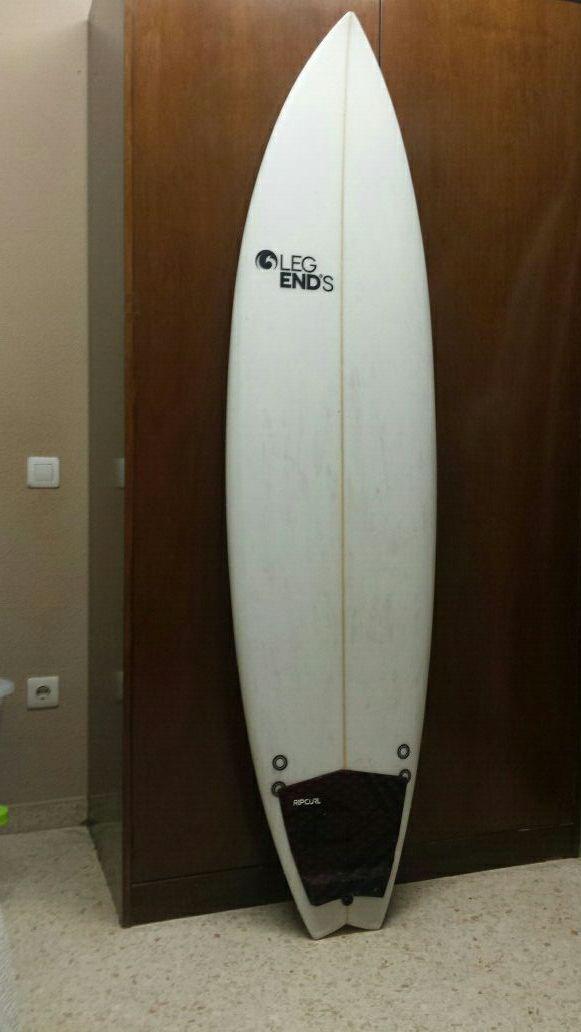 Tabla surf 6.4 legend