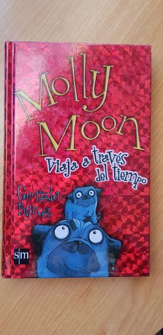 """Libro:""""Molly Moon, viaje a través del temps"""""""
