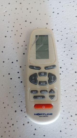 mando aire acondicionado nortline