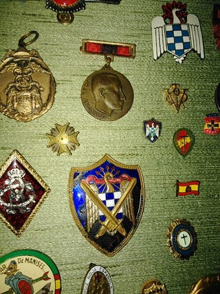 Compro y cambio rombos, insignias militares