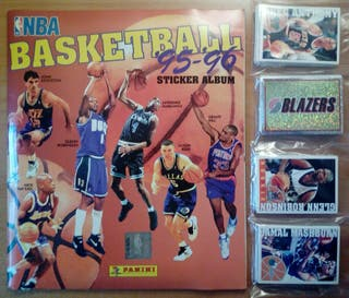 BASKETBALL 95/96 NBA BALONCESTO PANINI 1995 ALBUM