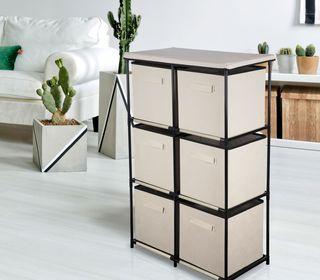 Mueble organizador cajonera tipo Ikea