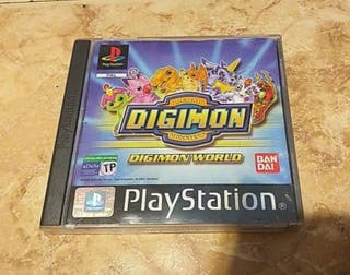 DIGIMON WOLRD PLAYSTATION (PS1)