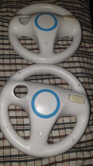 1 volante de mario kart para la wii