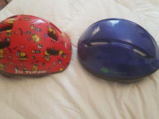 casco bici niños