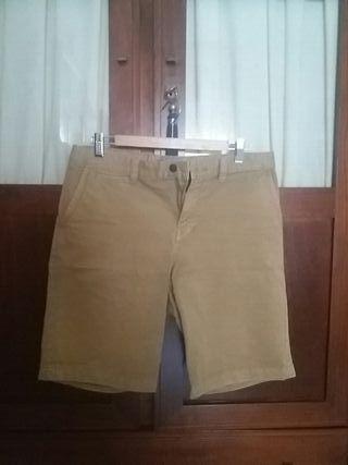 Pantalon corto chino Pull Bear