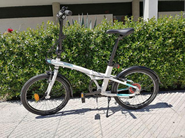 33a88625a6a Bicicleta plegable de segunda mano por 190 € en Corredoria en WALLAPOP