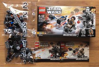 "LEGO STAR WARS MICROFIGHTERS 75195 ""SIN FIGURAS"""