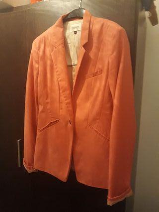 chaqueta coral
