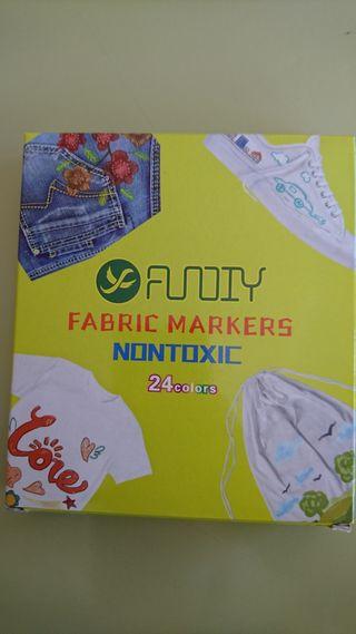Rotuladores textiles