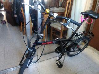 """Bicicleta Plegable Marca """"Folding 20"""" + accesorios"""