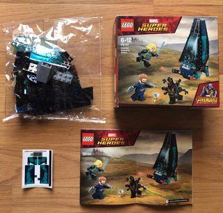 """LEGO AVENGERS INFINITY WAR 76101 """"SIN FIGURAS"""""""