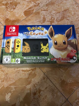 Pack Nintendo Switch Limitada Pokemon