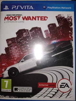 Juego psp need for speed most wanted