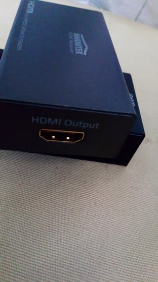 splitter hdmi a Rj45 cable de red