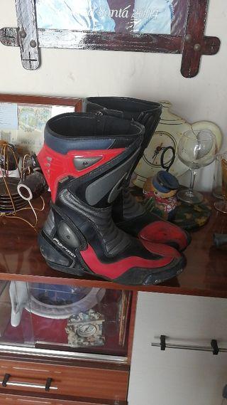 botas de motos carreteras