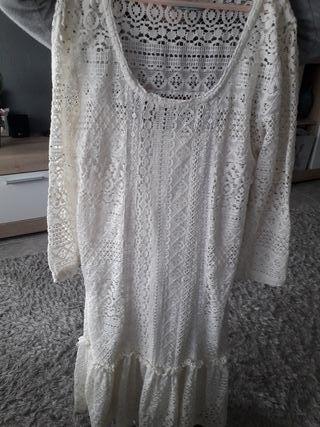 Vestido ibizenco Bershka