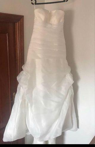 de085cd87c Vestido de novia Pronovias de segunda mano en Las Rozas de Madrid en ...